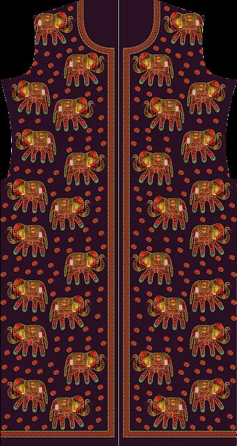 Elephant Kurtis suit