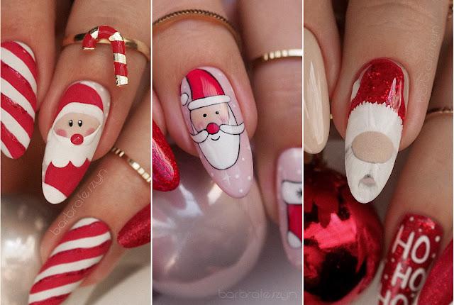 Mikołajowe paznokcie | PB Nails