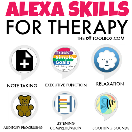 Alexa skills for therapy