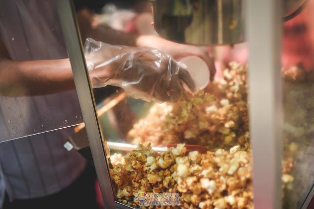 Free popcorn and cotton candy @ Taman Tasik Shah Alam