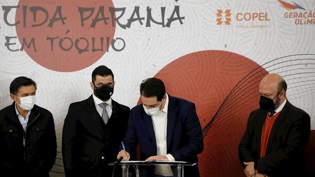 Presidente do CPB e governador do Paraná assinam convênio de promoção da Educação Paralímpica