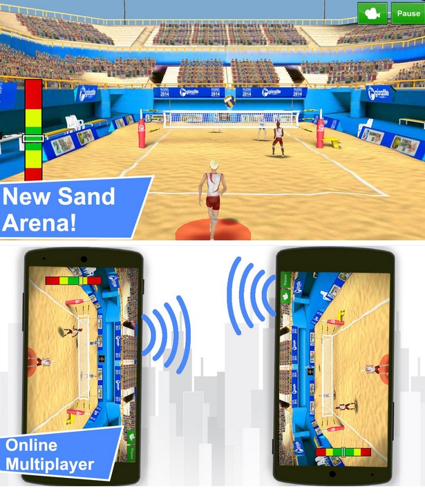 Volleyball Champions 3D Mod Apk Unlimited Money