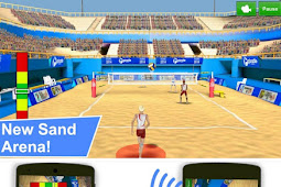 Volleyball Champions 3D Mod APK ringan | Android-1