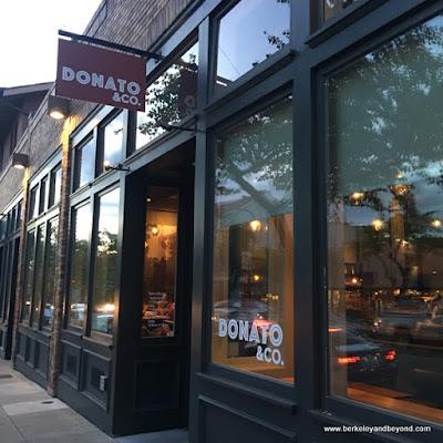 exterior of Donato & Co. in Berkeley, California