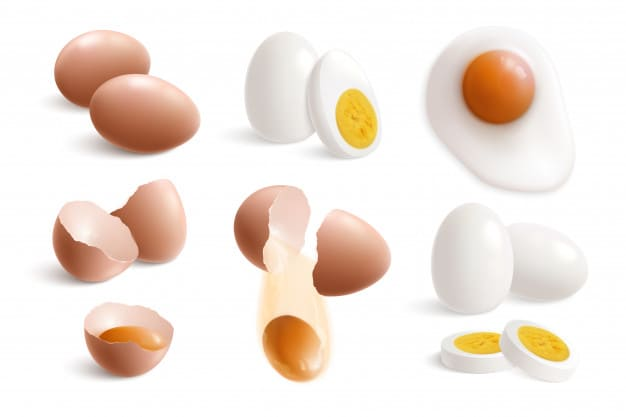 What are the benefits of egg whites for the body?