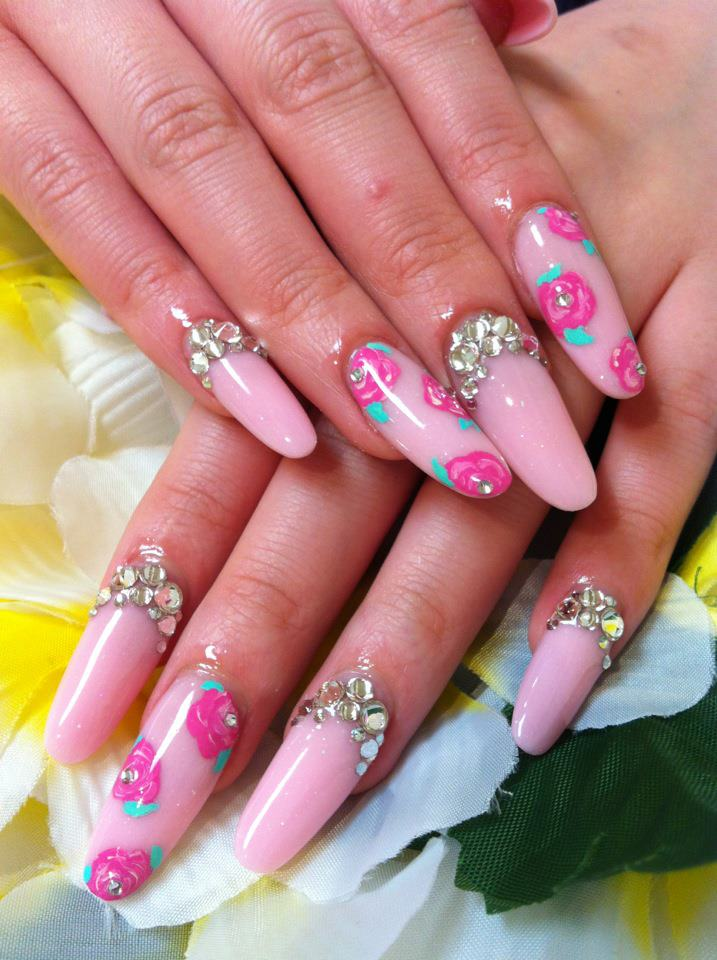 Acrylic Nails & I Love doing them : Different Style ...