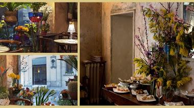 Café, pasta y flores: Fioraio Bianchi Caffè en Milán