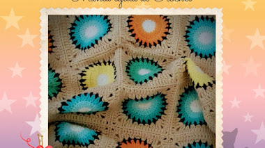 Manta tejida al Crochet - DIY