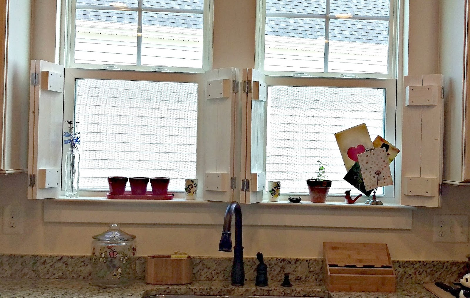 Potomac Shores Living Diy Rustic Shutters And Window