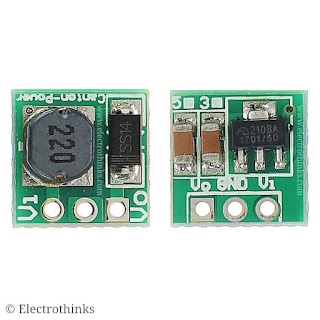 DC-DC Mini 5V Step-Up Power Boost Converter Module