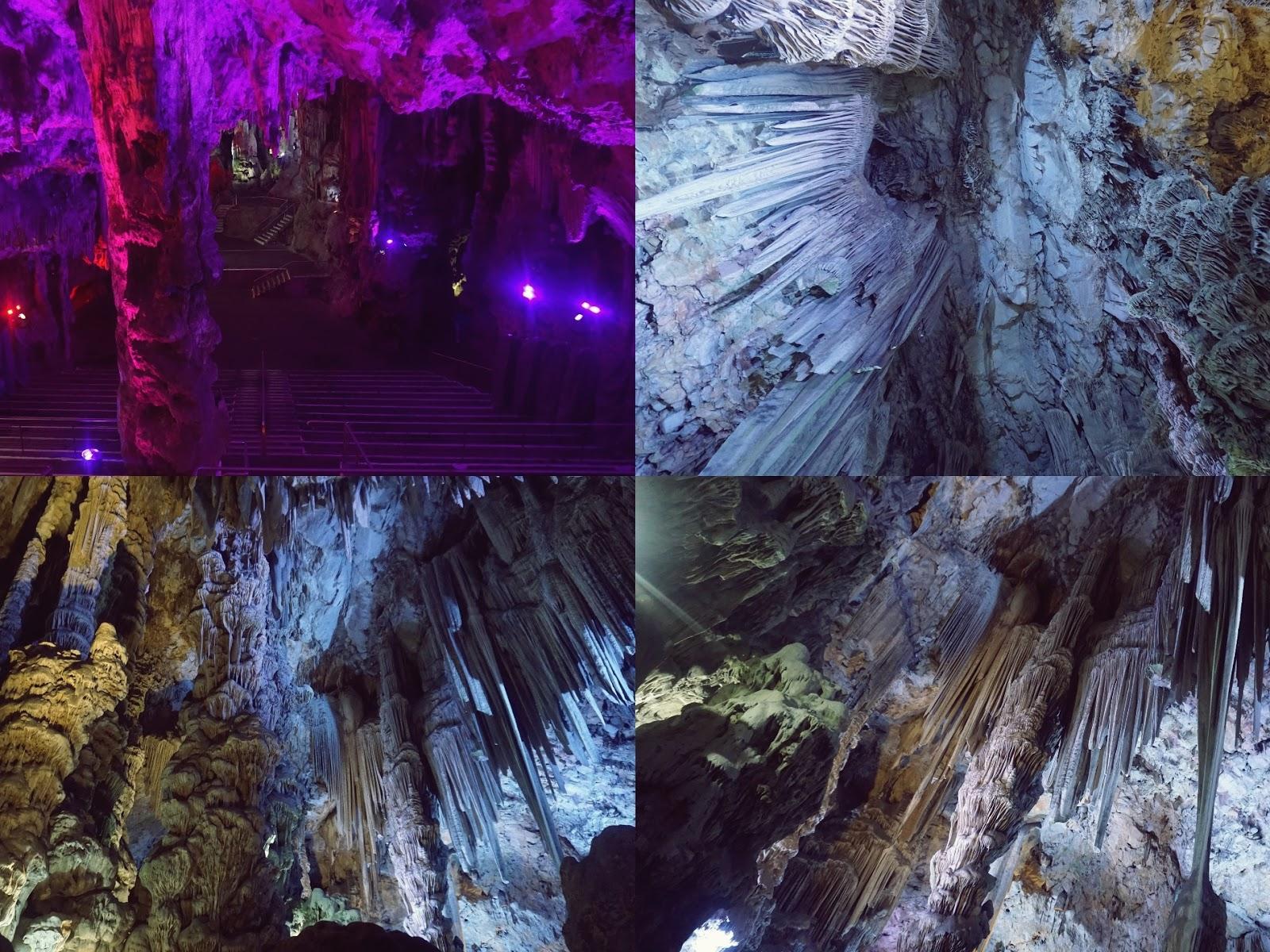Jaskinia Św. Michała Gibraltar, jaskinia, Gibraltar, panidorcia, blog o podróżach, Hiszpania, skalaktyty, stalagmity