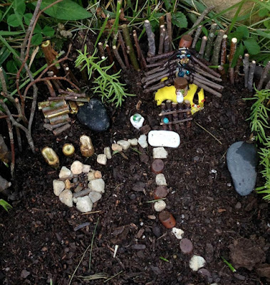 Fairy garden homestead