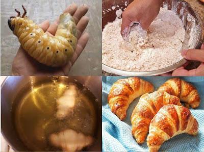Bio Crossants selber machen lustige Kochideen