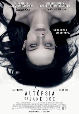 """Passatempo: """"A Autópsia de Jane Doe"""" - Convites para as antestreias"""