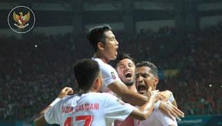 Hasil Skor Indonesia vs Uni Emirat Arab - 16 Besar Sepakbola Asian Games 2018