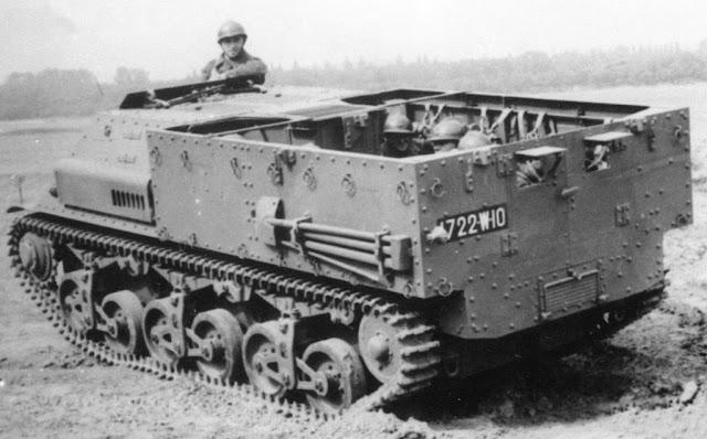 Прототип Lorraine 39L на испытаниях