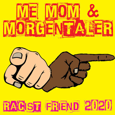 The cover features an illustration of both white and black hands with their pointer fingers extended.