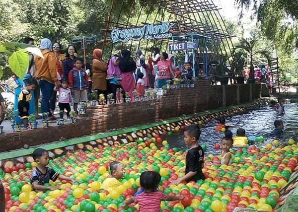 Wisata Gronjong Wariti Kediri, harga tiket dan lokasi
