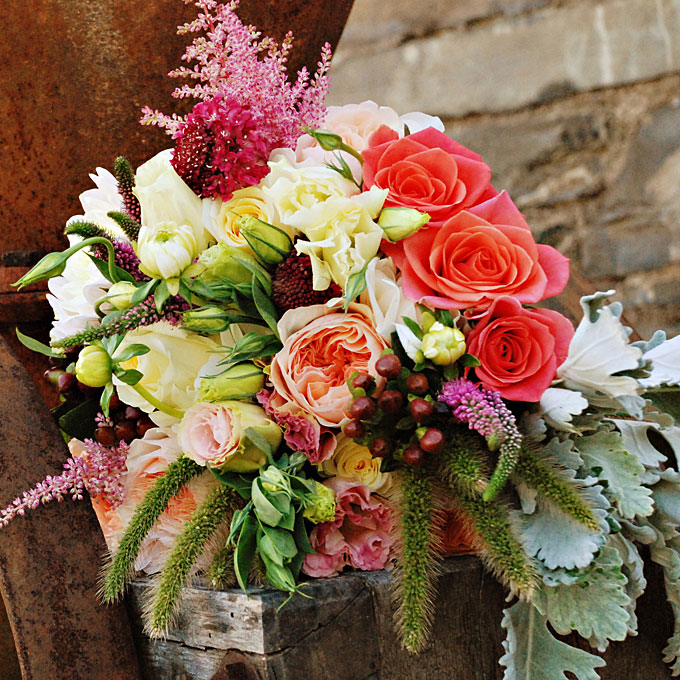 Pinterest Fall Wedding Flowers: The Autumn Wedding: Lovely Bouquets I Like