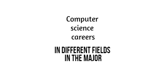 Computer science careers