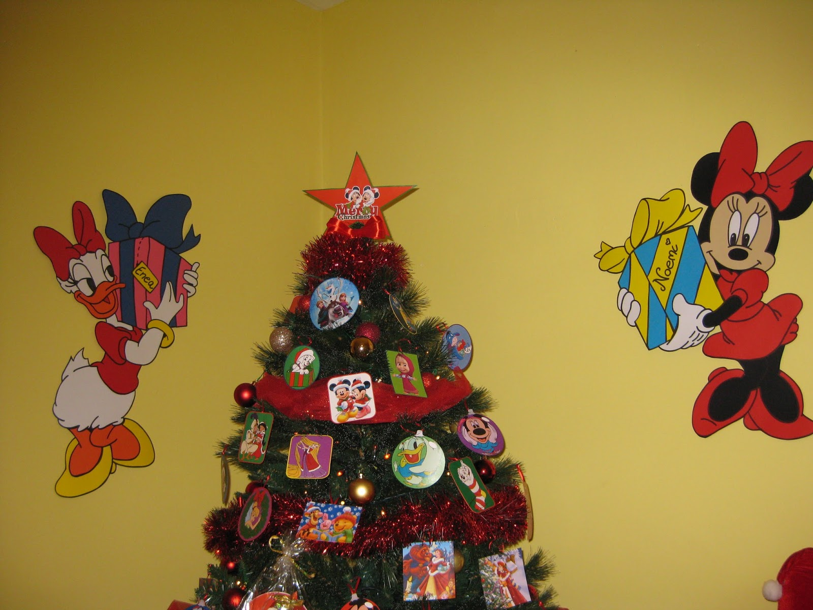 Addobbi Natalizi Disney.Cartoncini Animati Natale Disney