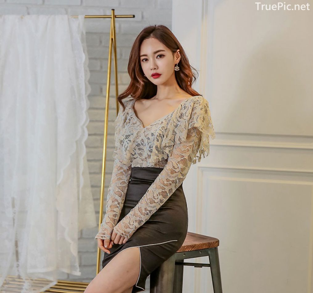 Korean Fashion Model - Hyemi - Indoor Photoshoot Collection - TruePic.net - Picture 7
