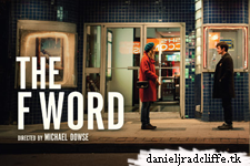 First poster for The F Word is released, featuring Daniel Radcliffe and Zoe Kazan