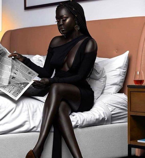 [유머] 올해 인기모델로 선정된 흑인모델 -  와이드섬