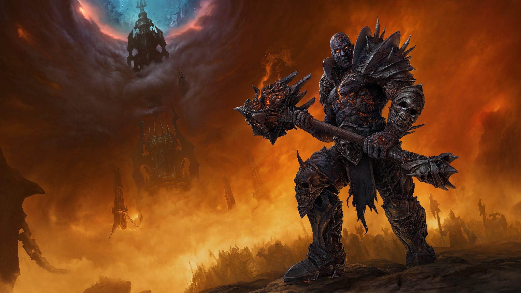 Warrior in World of Warcraft: Shadowlands