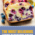 The Most Delicious Lemon Blueberry Bread #dessert #bread