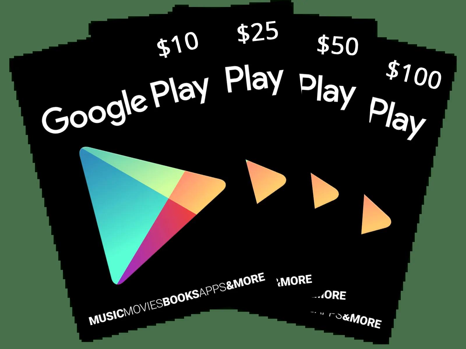 buy google play gift card