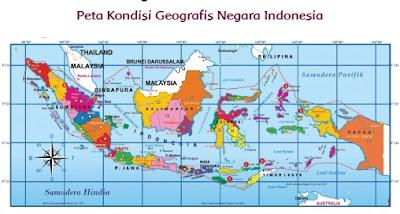 peta geografis