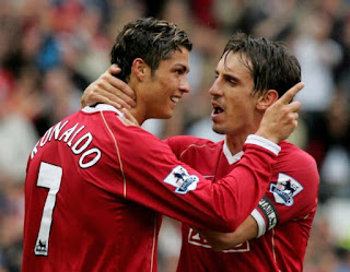 Gary Neville reveals how he wound up former Manchester United teammate Cristiano Ronaldo