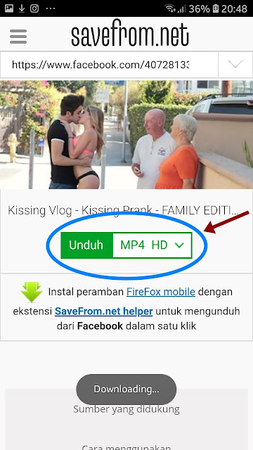 Download Video Dailymotion di Android