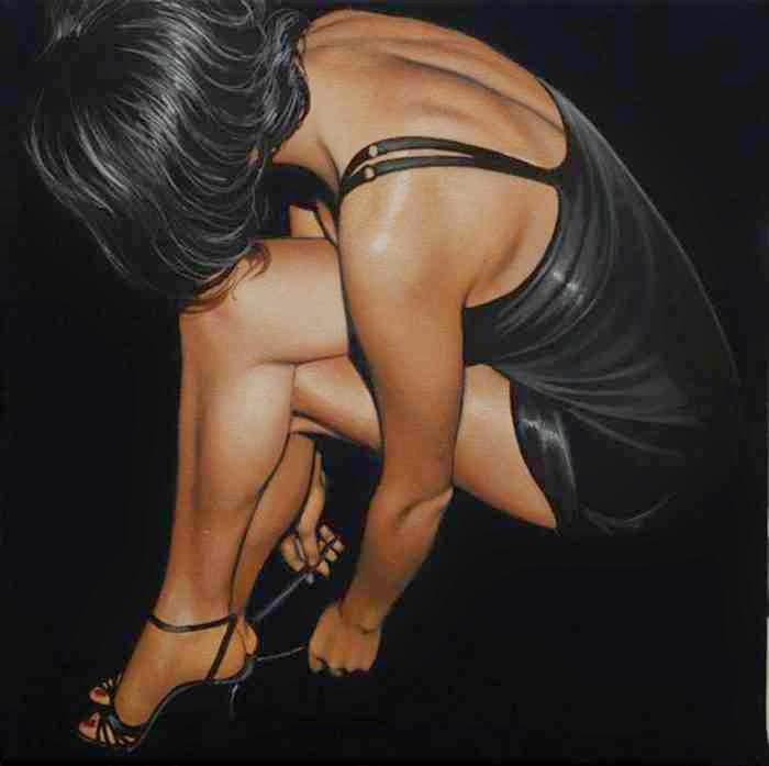 Итальянская художница-реалист. Antonella Cinelli