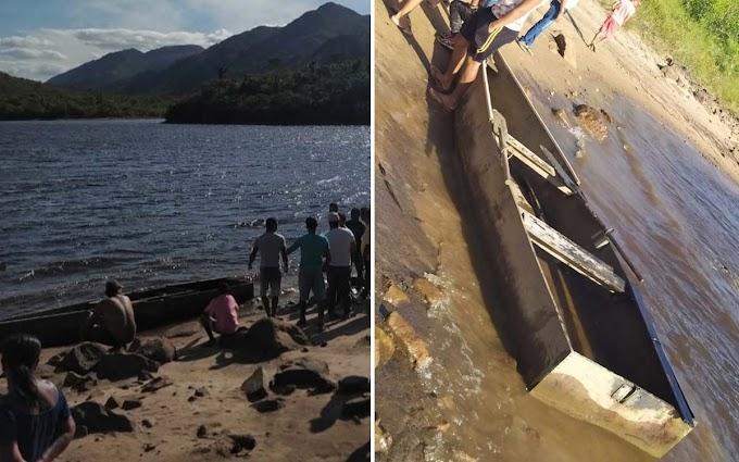 Corpos de outros dois jovens que estavam em canoa são encontrados em Pindobaçu