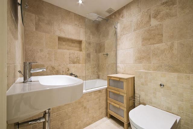 каменни плочки за баня