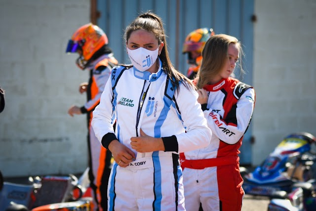 Strong performance by Alyx Coby at IAME France Ladies Cup
