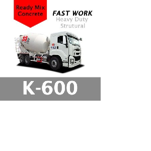 Harga Beton Cor Mutu K-600