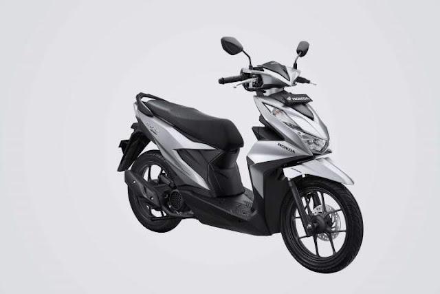 All New Honda BeAT 2020 Warna Deluxe Silver Gloss