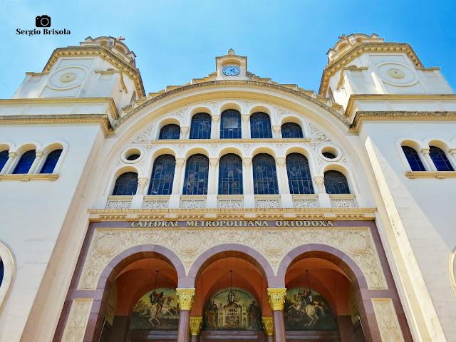 Fachada da Catedral Metropolitana Ortodoxa - Paraíso - São Paulo