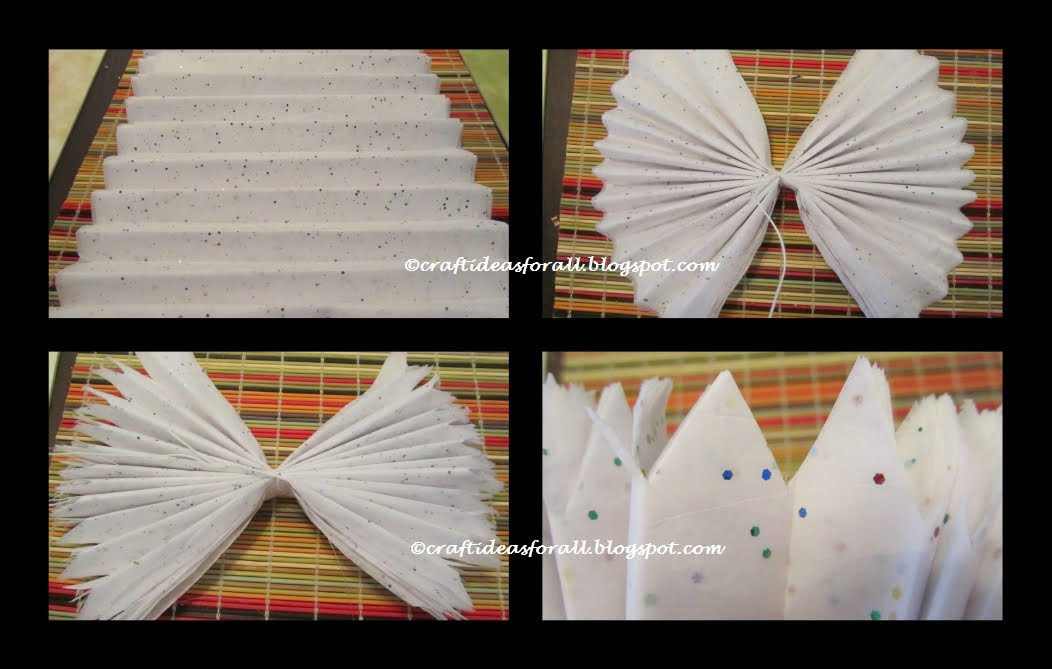 Tissue Paper Decorations For Birthday