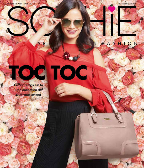 catalogue sophie paris maroc mars avril 2018