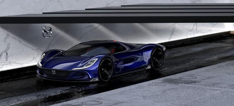 "Ngắm ""siêu phẩm"" Mazda RX-10 Vision Longtail"