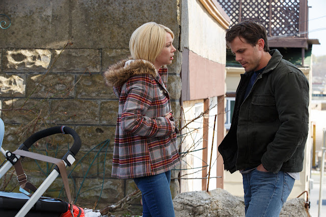 "Michelle Williams and Casey Affleck, in Kenneth Lonergan's heartbreaking ""Manchester by the Sea"""