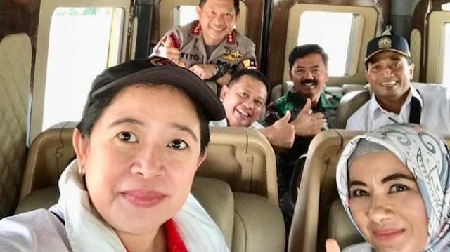 Fakta di Balik Foto Viral yang Tuduh Panglima TNI Dukung 01