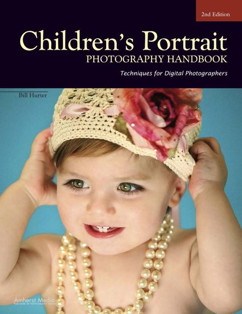 Portada: Retratos de niños - Libro de fotografía.