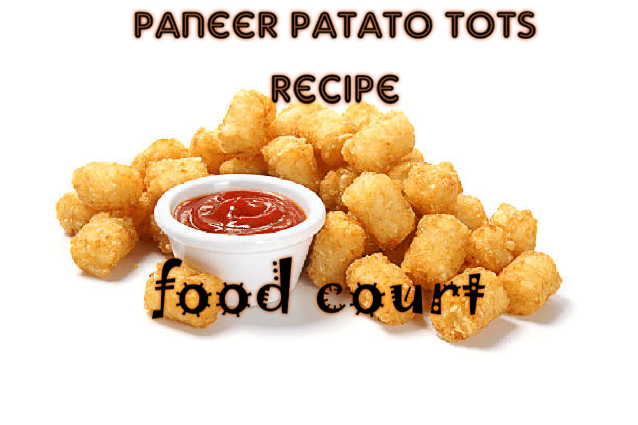 how to make paneer potato tots at home