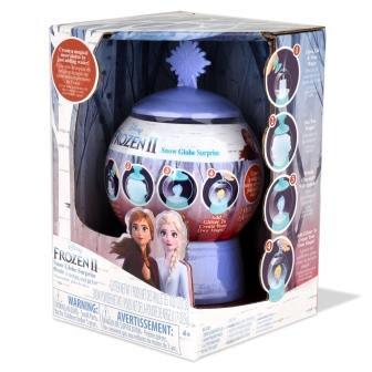 Frozen 2 Snow Globe in packaging