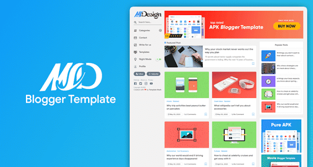 free-MSD-Blogger-Template-download